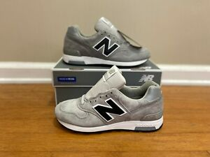 New Balance 1400 x J.Crew Classic Running Shoes MADE IN USA Grey Black M1400G