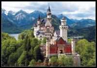 Neuschwanstein Castle - Chart Counted Cross Stitch Patterns Needlework DIY DMC