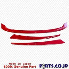 JDM Honda CIVIC TYPE R FK8 Front Grille Garnish Red Genuine Free Ship From Japan