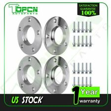 4X 10mm Thick 5x120 12x1.5 Hubcentric Wheel Spacers for 2008-2013 BMW 135i