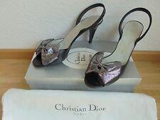 Christian Dior Leder Pumps NP: 589€ w NEU + OVP Schuhe Gr. 38 38,5 39