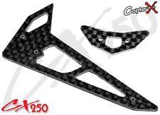CopterX CX250-06-03 Carbon Fiber Stabilizer Set Align T-rex Trex 250 PRO