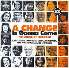 A change is gonna come : 40 songs of freedom (2 CD)