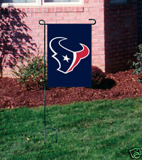Houston Texans Embroidered Garden Window FLAG