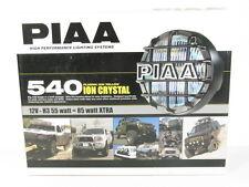 PIAA 540 Series Plasma Ion Yellow Halogen Round Driving Lamp Kit Fog Lights 5461