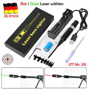 Mündungslaser Laserpatrone Schussprüfer Zielfernrohr Bore Sighter .177 bis .50