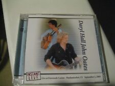 Hall and Oates INSTANT LIVE Foxwoods Casino Mashantucket, CT 9/2/2005 2CDs NEW!!