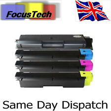 Set of 4 Kyocera FS C5150DN TK-580 New compatible Toners. Inc 4 Waste Containers