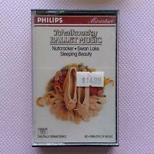 Tchaikovsky Ballet Music Nutcracker Swan Lake Sleeping Beauty Cassette (C30)