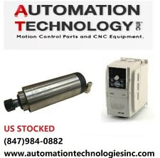 US Ship Brand New 2.2KW Air-Cooled Spindle and 2.2KW VFD CNC Kit