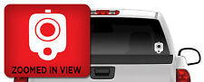 Glock Pistol Barrel Vinyl Decal Sticker Truck Window Car/ipad laptop 2x2.75