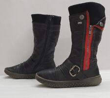 RIEKER ladies womens riekertex mid calf boots Size UK 2 EU 35