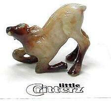 More details for little critterz miniature porcelain animal figure elk calf