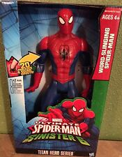 Ultimate Spider-Man Web Warriors Titan Hero Word-Slinging Spider-Man NEW