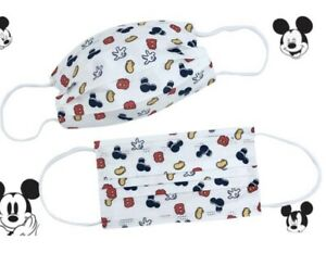 Adults Package with 25 Disney Mickey Mouse Disposabel Face Masks