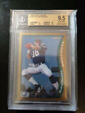 1998 Topps Chrome Peyton Manning RC Rookie BGS 9.5 PSA 10 Gem Mint w/ 10 sub