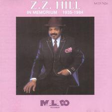 ZZ Hill - In Memorium - New Factory Sealed CD