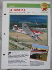 Aircraft of the World Card 27 , Group 5 - Jodel D series