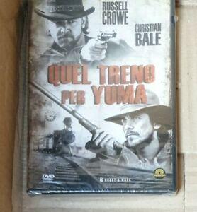 DVD QUEL TRENO PER YUMA. Russell Crowe, Christian Bale edit nuovo SIGILLATO