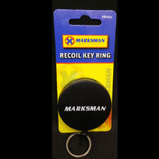 "26"" Recoil Key Chain Retractable Key Ring Steel Belt Clip Pull Metal KeyHolder"