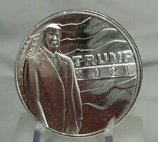 2020 TRUMP Silver 1 troy oz .999 Fine Round. 45th President. 30 Available. lot#2