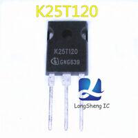 5pcs  K25T120  new