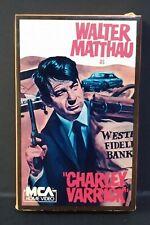 Charley Varrick (BETAMAX) MCA Home Video #55062 (1983) Walter Matthau (NOT VHS)