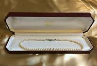 Vintage LOTUS Faux Pearl Necklace BOXED
