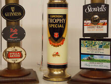 3 Vintage Beer & Wine Fonts, Guinness, Red C, Stella Artois,Camerons,Merlot ect.