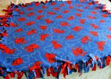 Clifford Big Red Dog Child Reversible Crib Bed Quilt Blanket Comforter Fringe