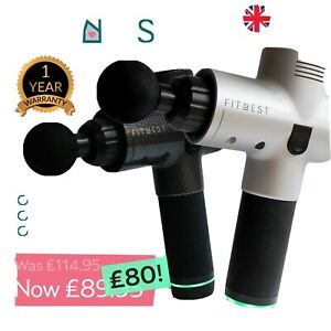 Massage gun In Silver For use On Different Muscle Group