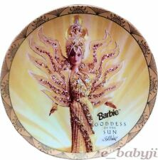 Enesco Barbie Collectors Plate Goddess of the Sun Ltd Edition Bob Mackie8 1/4""