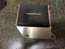 Harley road glide amp mount driver side rockford fosgate pbr300x2 / pbr300x4