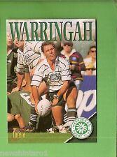 1996 RUGBY UNION  CARD #76 CLUB CARD, WARRINGAH