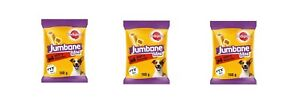 3 packs x Pedigree Jumbone Small Dog Low Fat Treats with beef and poultry