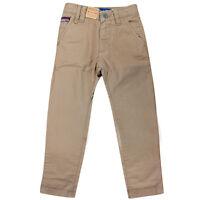 Timberland Adjustable Waist Boys Kids Fashion Trousers Pants Beige T2723 248 R15