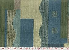 Awesome! Geo Blue Velvet Epingle Braemore Upholstery Fabric Collage CL Lakeland