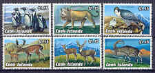 Tiere, Animals, Löwe, Pinguin, Falke - Cook-Inseln - 1370-1375 ** MNH 1992