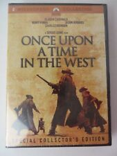Once Upon a Time in the West Dvd Sealed + Cd Sound Track #9483