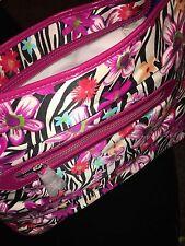 ~NWT~NEW MAXX New York Tote Shopper Handbag Purse FLORAL PRINT VERY NICE