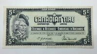 1974 Canadian Tire 5 Five Cents CTC-S4-B-HN Circulated Money Banknote E141