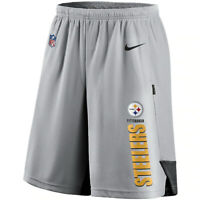Brand New 2020 NFL Nike Pittsburgh Steelers Player Performance Training Shorts