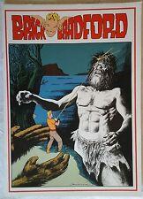 BRICK BRADFORD tavole domenicali a colori collana gertie daily 98 comic art 1980