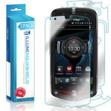 2x iLLumi AquaShield HD Front Screen + Back Panel Protector for BlackBerry Z30