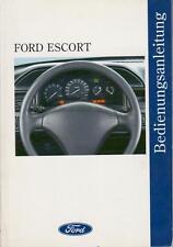 FORD ESCORT CABRIO Betriebsanleitung 1993 Bedienungsanleitung Handbuch MK6  BA