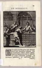 Drogist-Drogerie-Beruf-Kupferstich von Jan Luyken 1717