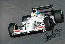 Mark Blundell firmado, 12x8 F1 Tyrrell-Yamaha 022, GP Japonés, Suzuka 1994