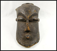 Vintage RARE Kuba helmet mask old patina used n mask NICE