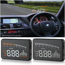 HEAD Up Display HUD OBDII 2 Dash Auto Schermo Finestra Progetto Tachimetro km/h MPH