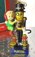 MR PEANUT Nutcracker Ornament Tis The Season To Be Nutty Planters Enesco '96 MIB